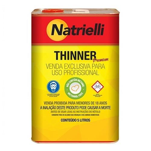 THINNER COMUM 5LT 8116 - NATRIELLI