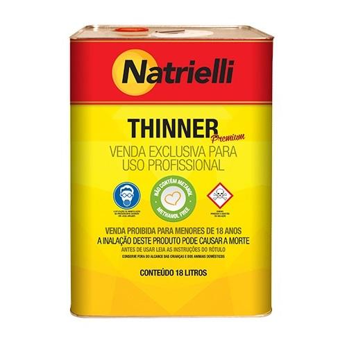 THINNER COMUM 18LT 8116 - NATRIELLI