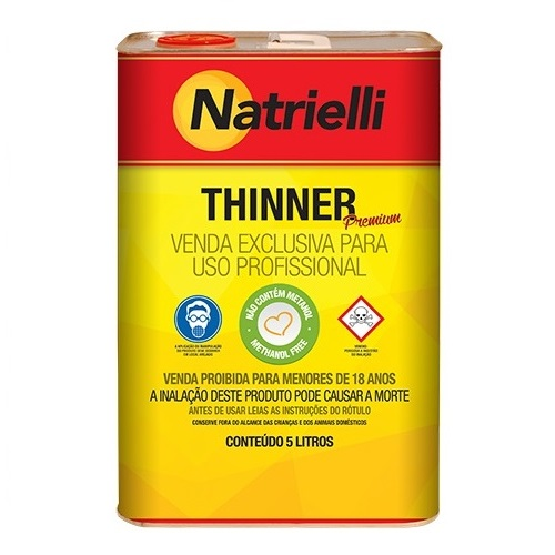 THINNER ACABAMENTO 05LT 8800 - NATRIELLI