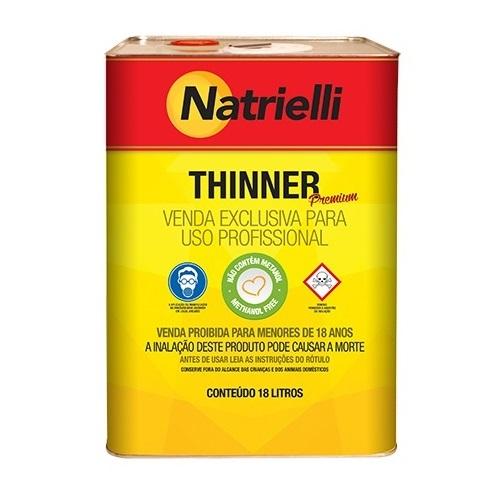 THINNER ACABAMENTO 18LT 8800 - NATRIELLI
