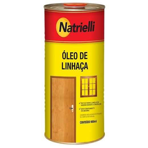 OLEO DE LINHACA 900 ML - NATRIELLI