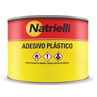 MASSA ADESIVA PLASTICA BRANCA 400GR - NATRIELLI
