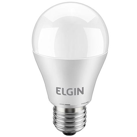 LAMPADA LED BULBO A60 E27 9W 6500K BIVOLT - ELGIN