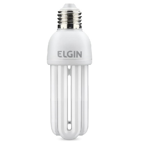 LAMPADA FLUORESCENTE 3U 20W 6500K 127V - ELGIN