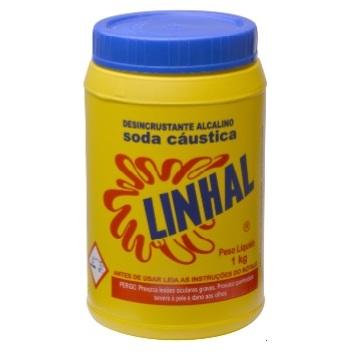 SODA CAUSTICA POTE 1KG - LINHAL