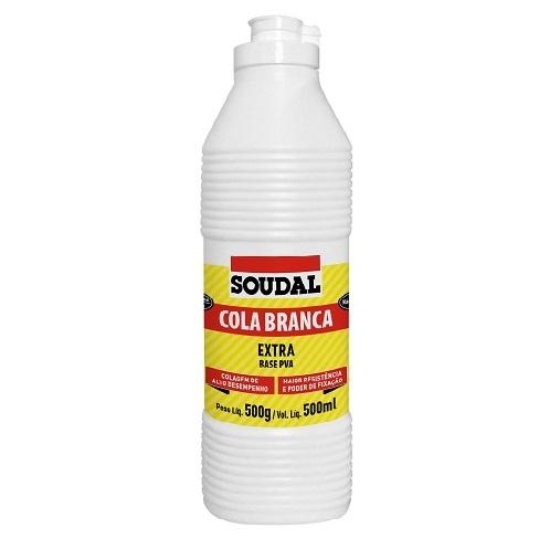 COLA BRANCA EXTRA 500GR - SOUDAL