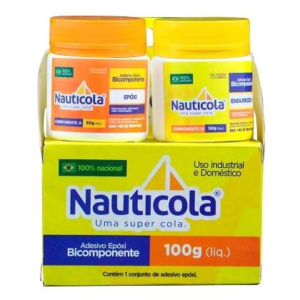 ADESIVO EPOXI COMPONENTE A(100GR) COMPONENTE B(100GR) - NAUTICOLA