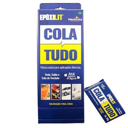COLA TUDO EPOXILIT CX-10 100GR - NAUTICOLA