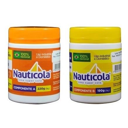 ADESIVO EPOXI COMPONENTE A(220GR) - NAUTICOLA