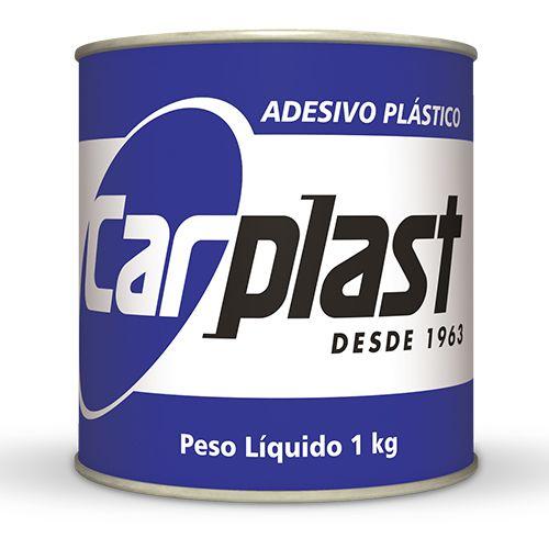 MASSA ADESIVA PLASTICA BRANCA 1KG - CARPLAST