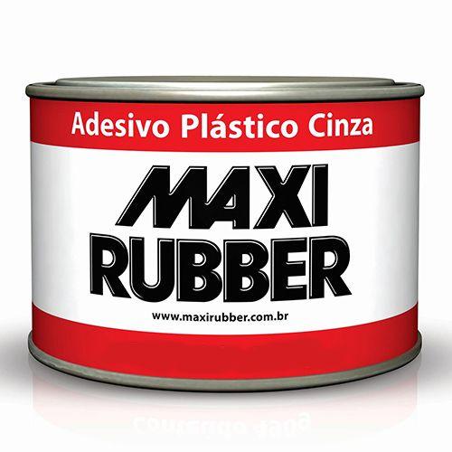 MASSA ADESIVA PLASTICA CINZA 400GR - CARPLAST