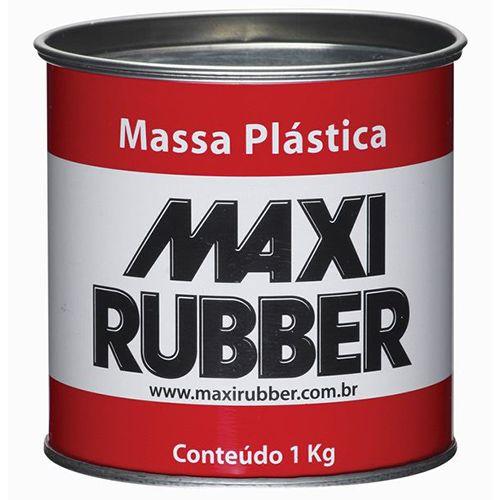 MASSA ADESIVA PLASTICA CINZA 1KG - CARPLAST
