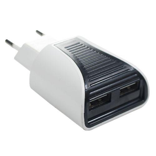 CARREGADOR TOMADA 2.0A C/ 2 USB - FLEX