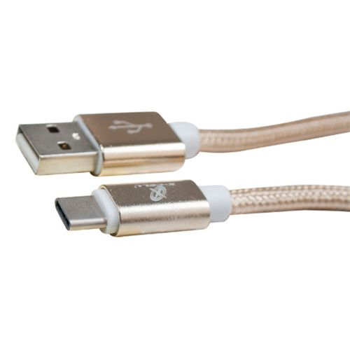 CABO DE DADOS USB/ TYPE C 3.0A  PRETO - FLEX